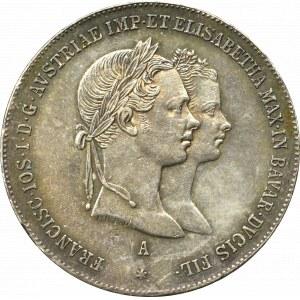 Austria, Franc Joseph I, Gulden 1854 Wienn