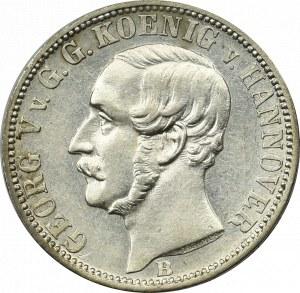 Niemcy, Hannower, 1/6 talara 1860