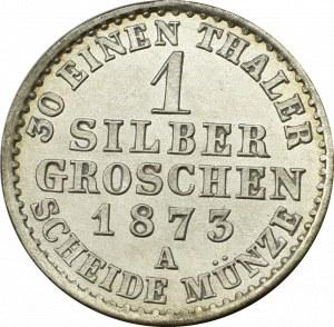 Niemcy, Prusy, 1 grosz 1873