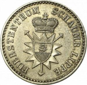 Germany, Schaumburg-Lippe, 1 silver groschen 1858