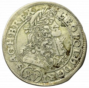 Hundary, Leopold I, 15 kreuzer 1690