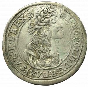 Hundary, Leopold I, 15 kreuzer 1677