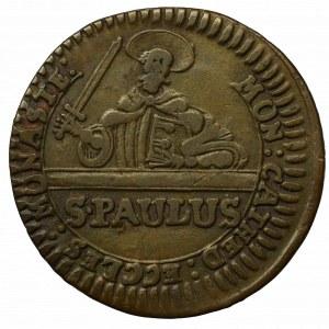 Germany, Münster, 3 pfennig 1760