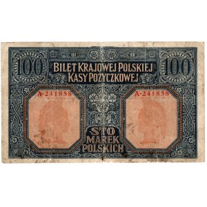 Generalne Gubernatorstwo, 100 marek polskich 1916, Jenerał