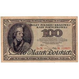 II Rzeczpospolita, 100 Marek Polskich 1919 N