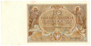 II Rzeczpospolita, 10 złotych 1929 20 lipca1929 FE