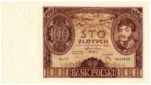 II Rzeczpospolita, 100 złotych 1934 CP.