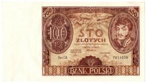 II Rzeczpospolita, 100 złotych 1934 C.B.
