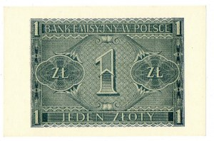 Generalne Gubernatorstwo, 1 złoty 1941 BC