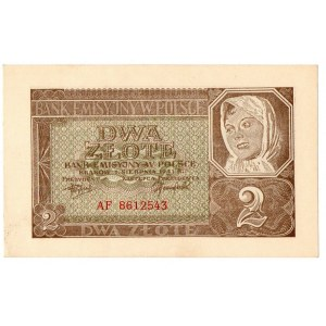 Generalne Gubernatorstwo, 2 złote 1941 AF