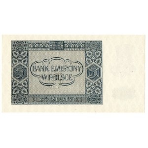 Generalne gubernatorstwo, 5 złotych 1941 AE