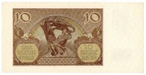 Generalne Gubernatorstwo, 10 złotych 1940