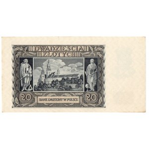 Generalne Gubernatorstwo, Zestaw 20 złotych 1940
