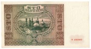 Generalne Gubernatorstwo, 100 złotych 1941 A
