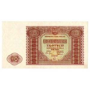 PRL, 10 złotych 1946