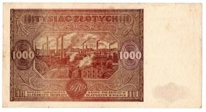 PRL, 1000 złotych 1946 A