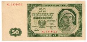 PRL, 50 złotych 1948 AL - rzadsze