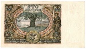 II Rzeczpospolita, 100 złotych 1934 BC. - zestaw dwóch egzemplarzy kolejne numery