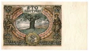 II Rzeczpospolita, 100 złotych 1934 BP. - zestaw dwóch egzemplarzy kolejne numery