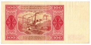 PRL, zestaw 100 złotych 1948 - 3 egzemplarze bez ramki Serie : GL, GK, GE