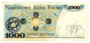 PRL, 1000 złotych 1975 AZ