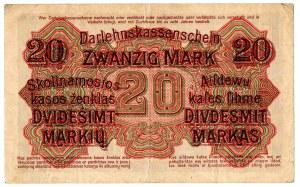 Ober Ost, 20 marek Kowno 1918