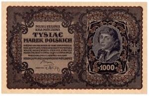 II Rzeczpospolita, 1000 marek polskich 1919 III SERJA AA