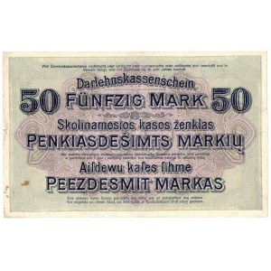 Ober Ost, 50 marek Kowno 1918
