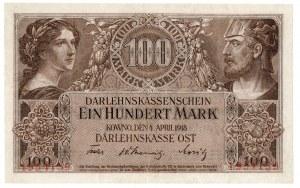 Ober Ost, 100 marek Kowno 1918