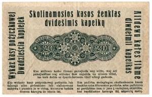 Ober-Ost, 20 kopiejek 1916, Poznań