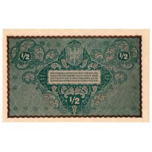 II Rzeczpospolita, 1/2 marki polskiej 1920