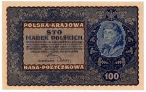 II Rzeczpospolita, 100 marek polskich 1919 ID SERJA L