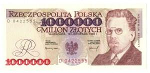 1 mln złotych 1993 D