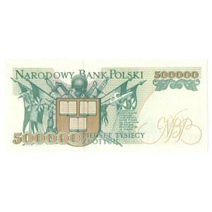 500.000 złotych 1990 AA