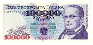 100 000 złotych 1993 T