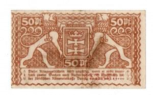 Gdańsk, 50 fenigów 1918