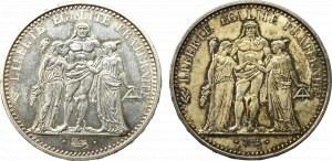 France, lot 10-20 francs 1938-1967