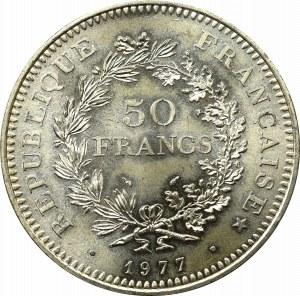 Francja, 50 Franków 1977
