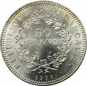 Francja, 50 Franków 1979