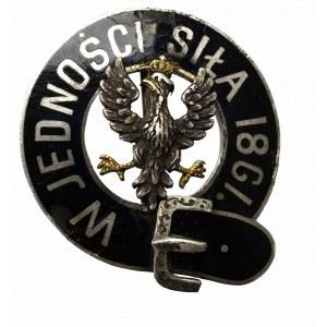Polska, Brosza patriotyczna W jedności siła 1861
