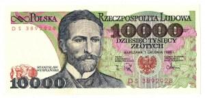 PRL, 10 000 złotych 1988 DS