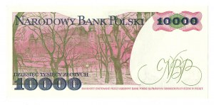 PRL, 10 000 złotych 1988 DT