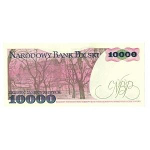 PRL, 10 000 złotych 1988 CW