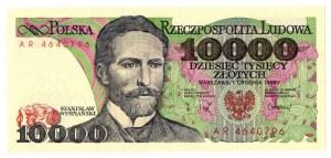 PRL, 10 000 złotych 1988 AR
