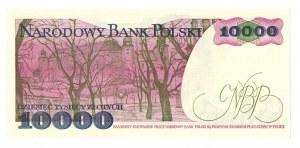 PRL, 10 000 złotych 1988 AG