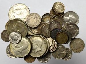 USA, Zestaw one dime-1/2 dolara (58 egz)