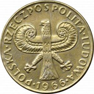 PRL, 10 złotych 1966 Mała kolumna
