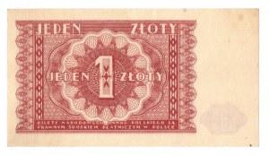 PRL, 1 złoty 1946 - zestaw 2 egzemplarze