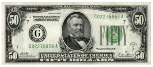 USA, 50 dolarów 1928