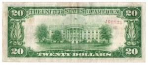 USA, 20 dolarów 1928